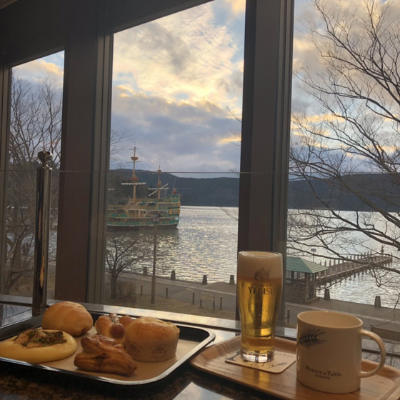 Bakery & Table 箱根 ベーカリーアンドテーブルはこね パワースポット女子旅 箱根神社 箱根初詣