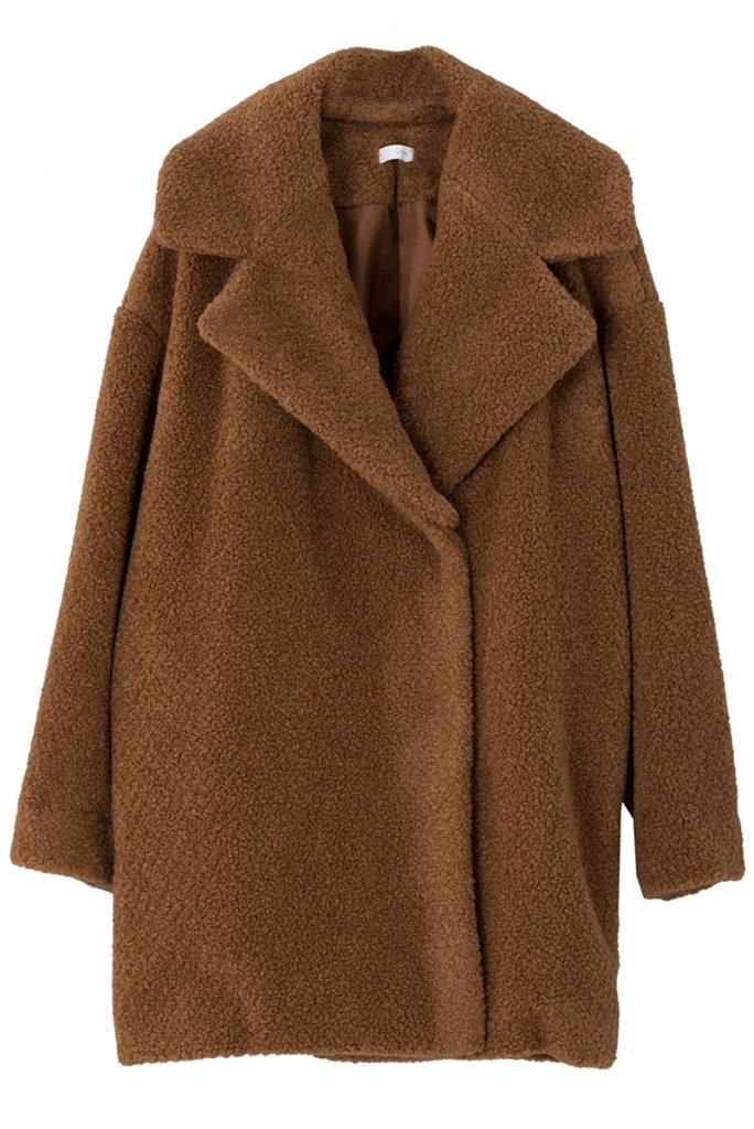 ボアジャケット シープスキン モコモコアウター 防寒 コート