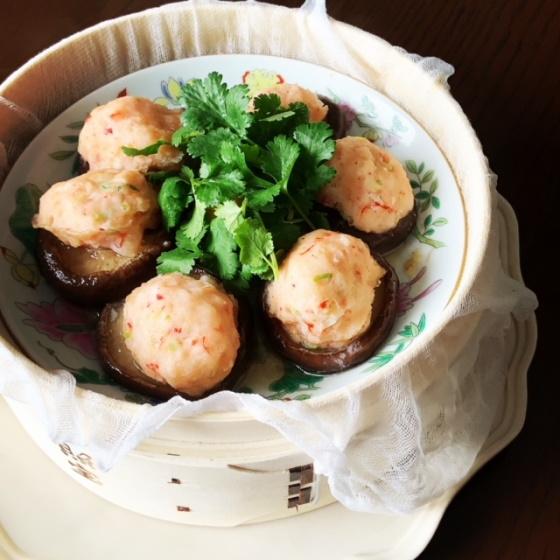 ariko アリコ キッチンツール arikoの食卓 キッチンツール  せいろ 照宝 中華街 椎茸の海老蒸し 中華風