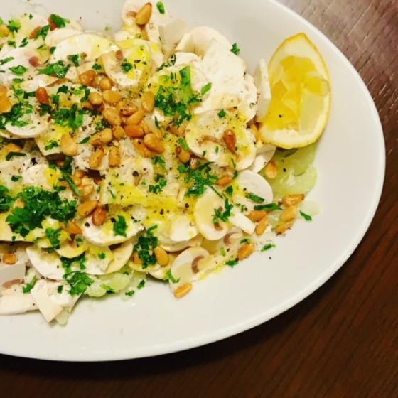 ariko アリコ キッチンツール arikoの食卓 キッチンツール  マイクロプレイン ゼスターグレーダー microplane zester grater マッシュルームとパルミジャーノのサラダ
